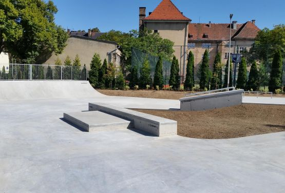 Concrete skatepark Żagań - TechrampsConcrete