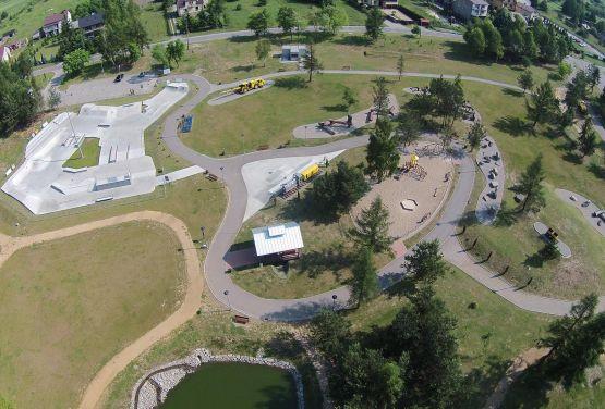Zagospodarowanie parku - projekt i wykonanie