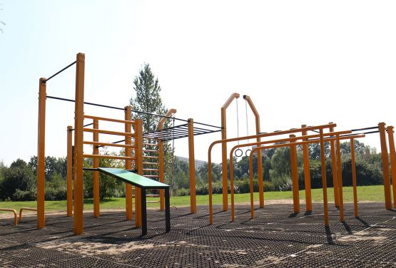 Street Workout Park Żory Pologne